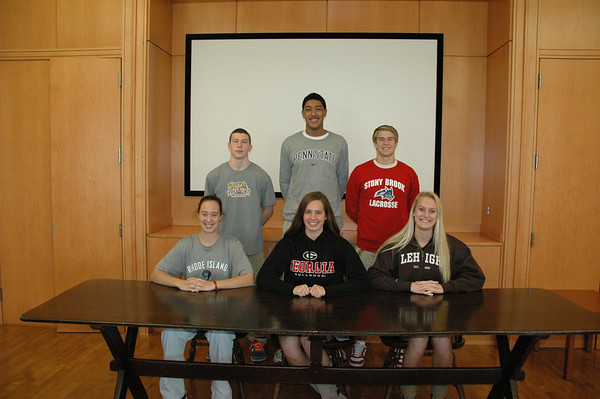 Fall Sports Signees