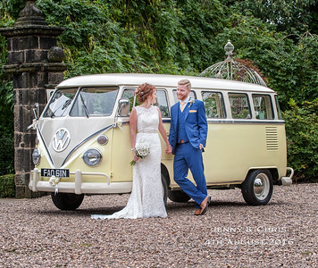 Jenny & Chris 4th August - Holdsworth House