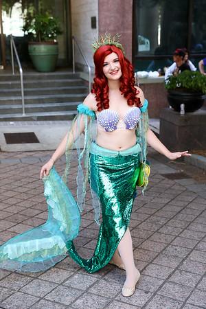 2018 Dragon Con - Mermaids