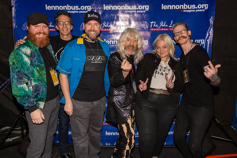 2019_01_26, Anaheim, CA, Imagine Party, NAMM, Brian Rothschild, Elle King, Names