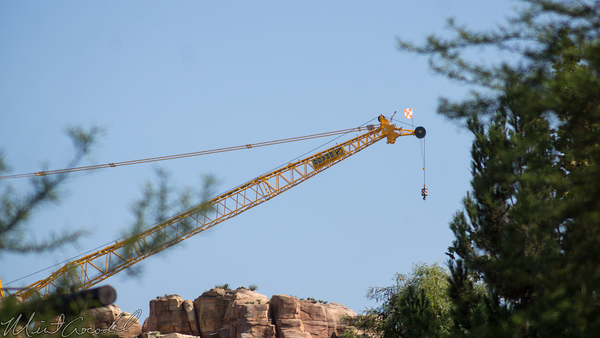 Disneyland Resort, Disney California Adventure, Cars Land, Crane, Convenion, Center, Anaheim
