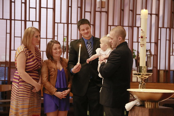 Valerie Adele's Baptism