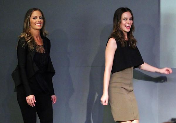 2011-02-02 - Minka Kelly and Leighton Meester