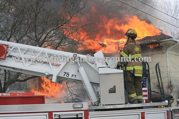 1/22/14 - Jackson duplex fire, 917 S. Francis