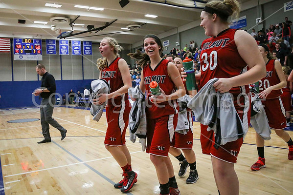 2014 Wilmot Girls Basketball - Sectional Playoff