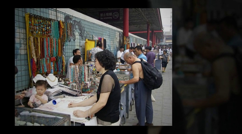 PanJiaYuan Antique Market Beijing ©Lewis Sandler Beijing Video Studio July 31,2010