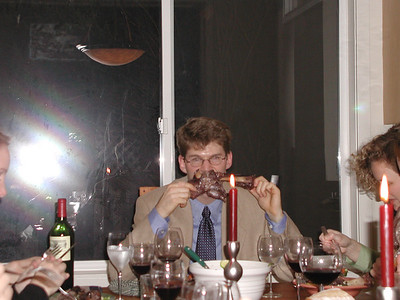 Holiday Dinner 2000 at the Tippett's
