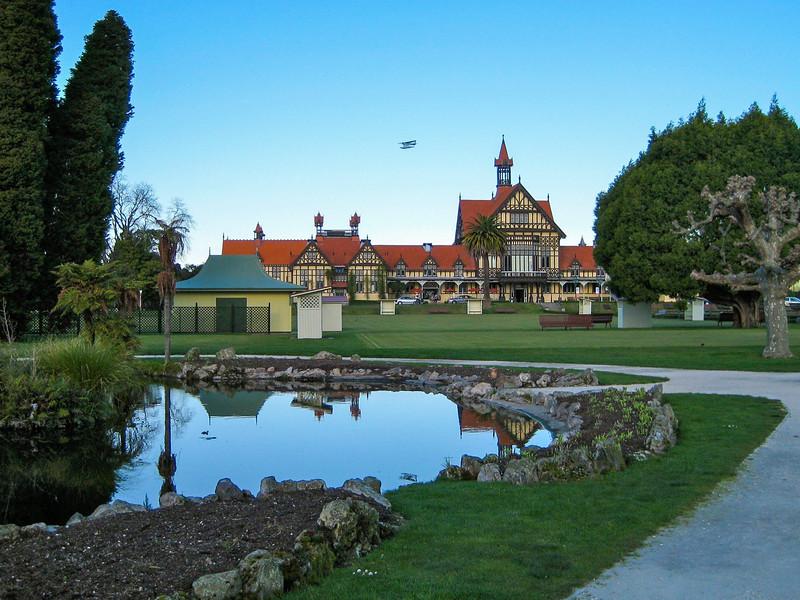 Government Gardens in Rotorua