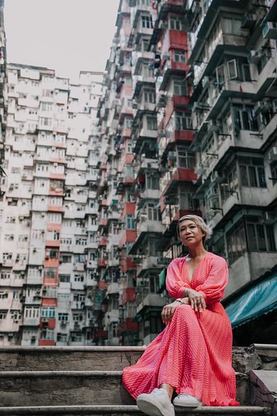 Zue Yang Casual Photoshoot