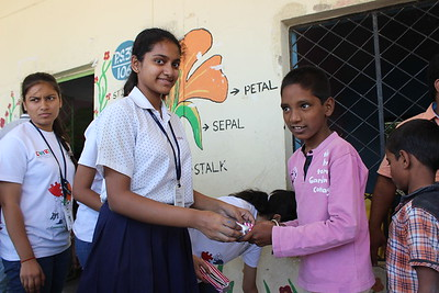 Joy of Giving (Interact Club Activity)