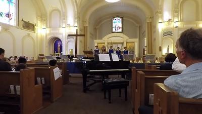 170521 Golden Gate Boys Choir Videos