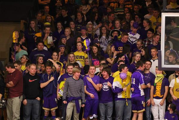Basketball Boys vs. Constantine - 2/20/15 - KCHS