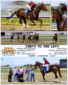 CHEVY TO THE LEVY - 5/31/2017