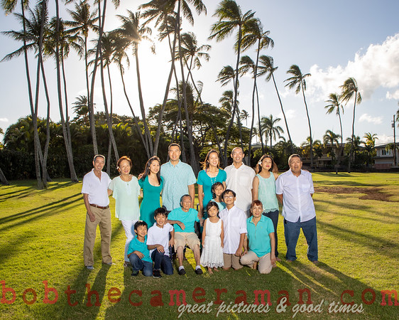 Lau Family Portrait - July 11, 2019