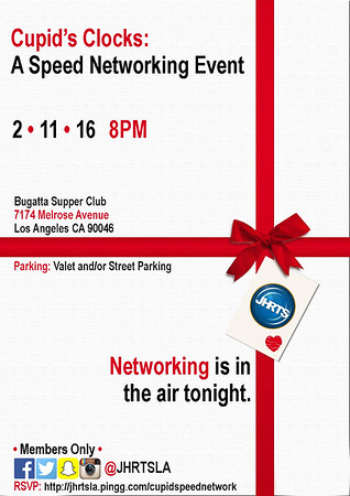 JHRTS Cupid's Clock Speed Networking (2/11/16)