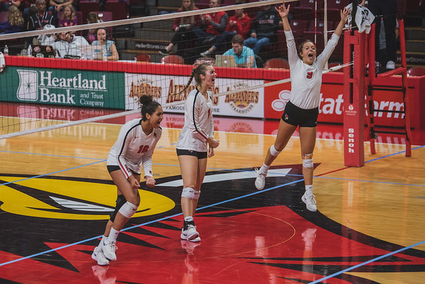 ISU Redbird Volleyball
