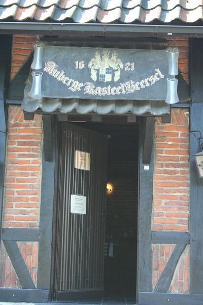 Belgium - Kasteel Beersel Restaurant
