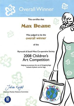 Max Dean's Art Prize
