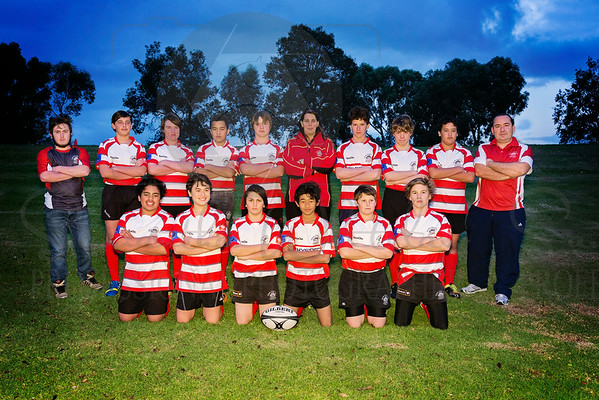 Under 14's Team Photo's