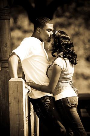 Kisha and Terrel-Engagement