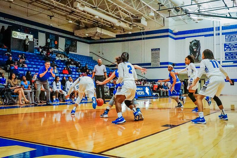 Lady Panthers Varsity vs  Weatherford 01-12-16-17