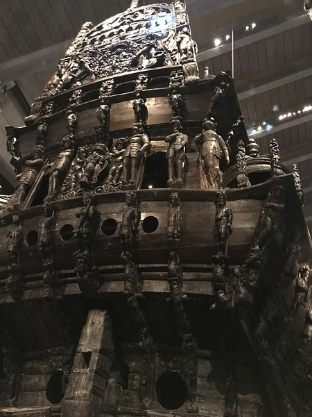 Vasa Ship Museum - on tour with Gionni