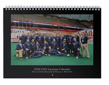 2016 USA Lacrosse Calendar (WILC2015)