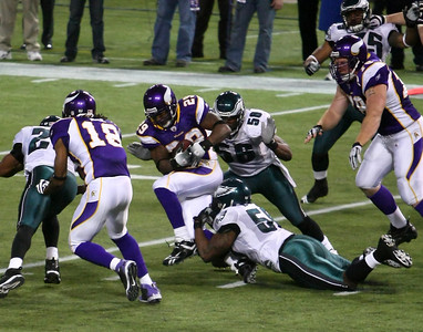 2008 NFC Playoff Game: MN Vikings vs Philadelphia Eagles (Jan 4, 2008)