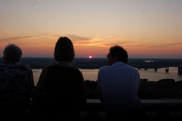 Sunset atop the Madison
