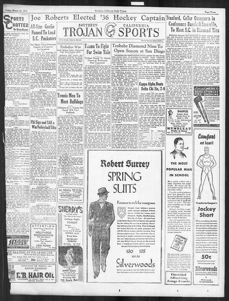 Daily Trojan, Vol. 26, No. 101, March 22, 1935