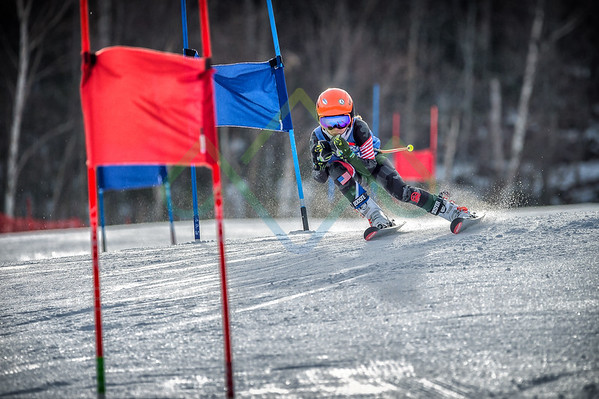 2018 Wildcat u12u14 NHARA Division Qualifier Giant Slalom