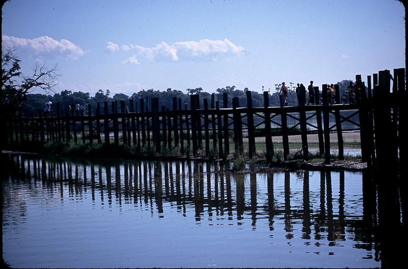 U Bein teak bridge (c.1851)