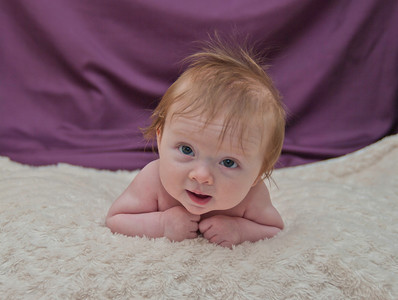 Ada 3 and 4 Month Photos