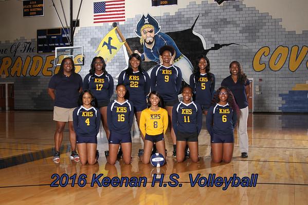 2016 Volleyball Varsity