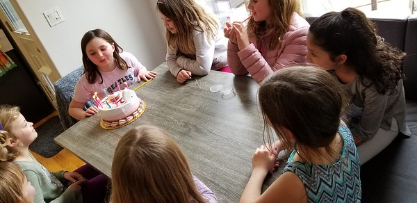 Madeline's 9th Birthday
