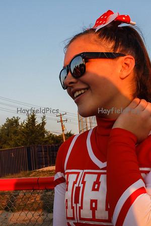Cheerleaders Yorktown 9/21/12