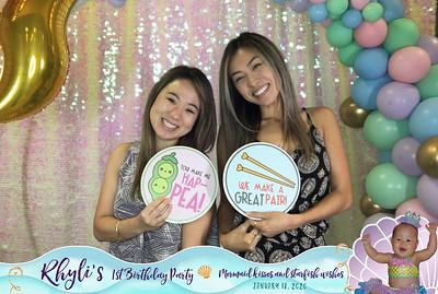 Rhyli's 1st Birthday (Boomerang Social Booth)