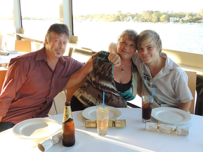 3rd Annual Combat Karate Christmas Party & Awards Noosa 2012 Chris, Adrian & Family,