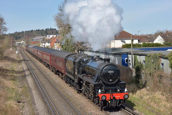 Trains April 2018