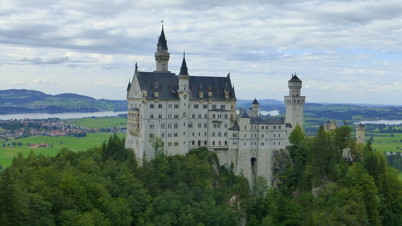 Neuschwanstein, Germany (Aug 13, 2014)