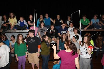 Bye Bye Birdie practice, THS Drama Club, High School, Tamaqua (3-10-2012)