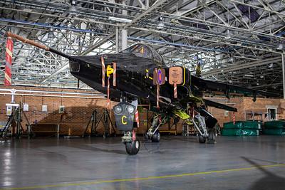 RAF Cosford Night Hangar Shoot  23-1-20