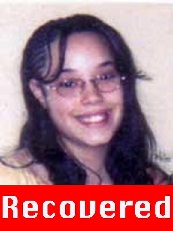 """. These photograph obtained on May 6, 2013 courtesy of the FBI show Georgina \""""Gina\"""" DeJesus, who went missing as teenager about a decade ago and was found alive May 6, 2013 in a residential area of Cleveland, Ohio. Three women who had been missing for years -- two of whom disappeared as teenagers -- were found alive in a house in Cleveland, police in the US state of Ohio said Monday. \""""All three women, Amanda Berry, Gina DeJesus and Michele Knight, seem to be in good health,\"""" Cleveland police said in a statement. AFP PHOTO /  FBI\"""""""