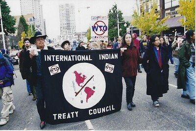 Native Heritage Month at the 1999 World Trade Demonstrations in Seattle