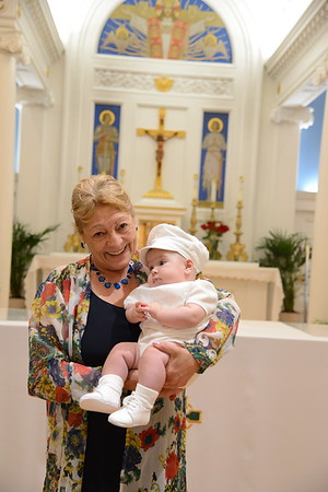 Luke's Baptism August 2017