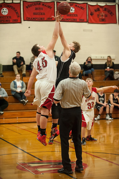 Hall-Dale vs Wiscasset JV Boys - Dec 14