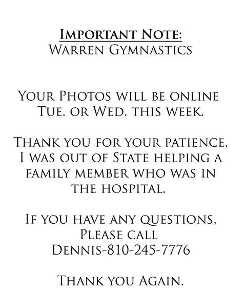 Warren Gymnastics