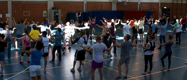 KIKI Flash Mob Rehearsal 1 - 22 Sept 2012