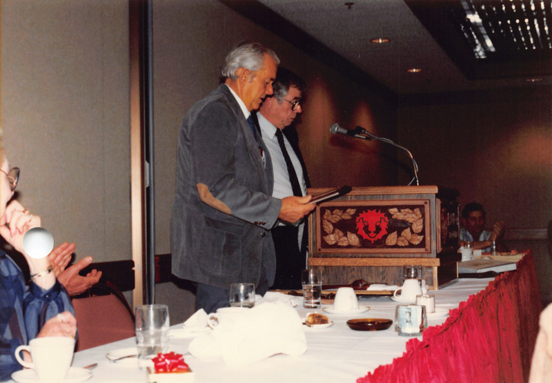 Ruben's retirement party from CAPC, Jan 1987