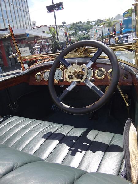 Car silver ghost interior.JPG